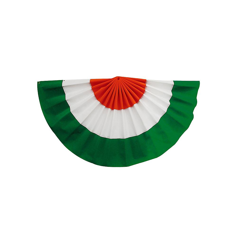 St. Patrick's Day Irish Tricolor Fabric Bunting Image #1