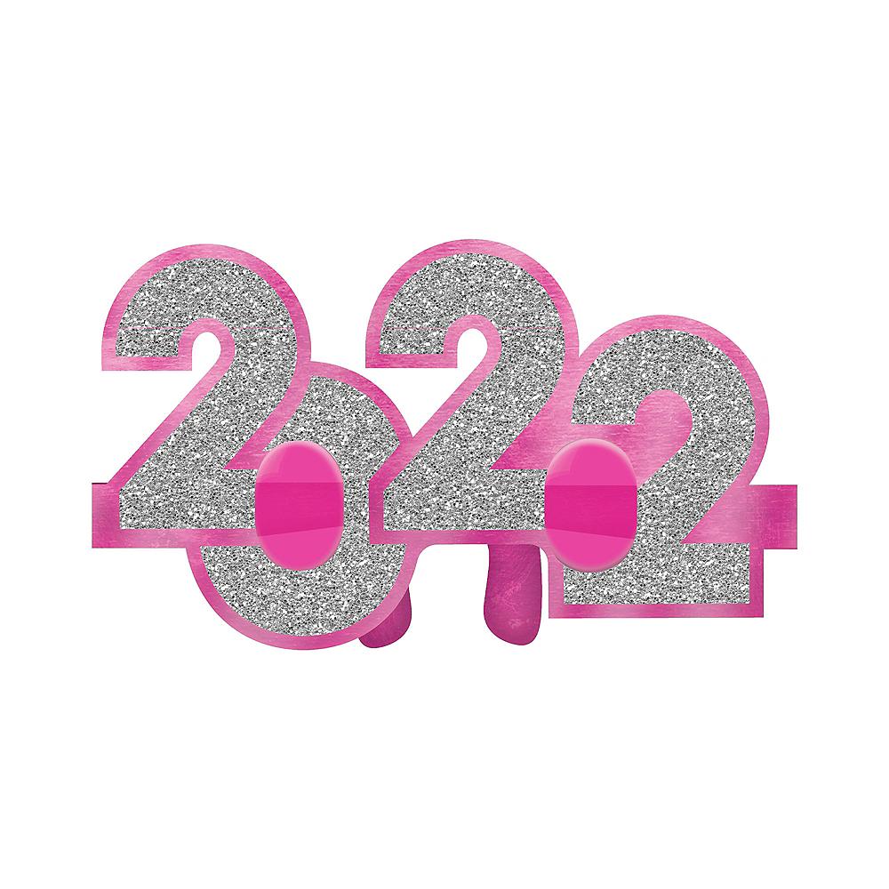 Glitter Multicolor 2020 Glasses 6ct Image #4