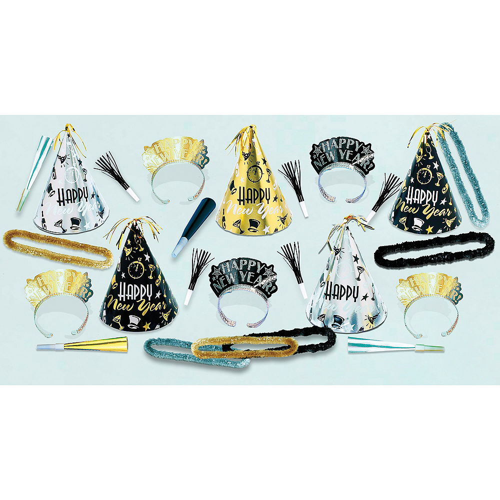 Kit For 10 - Midnight Party New Year's Party Kit Image #2