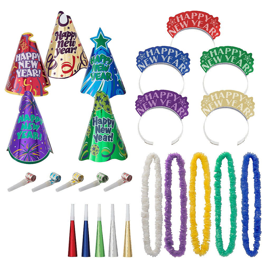 Kit For 10 - Let's Party New Year's Party Kit Image #1