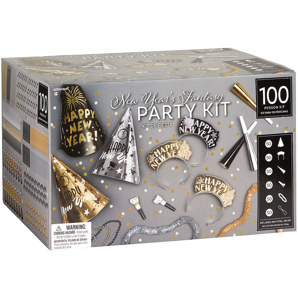 Kit For 100 - Fantasy New Year's Party Kit Image #2