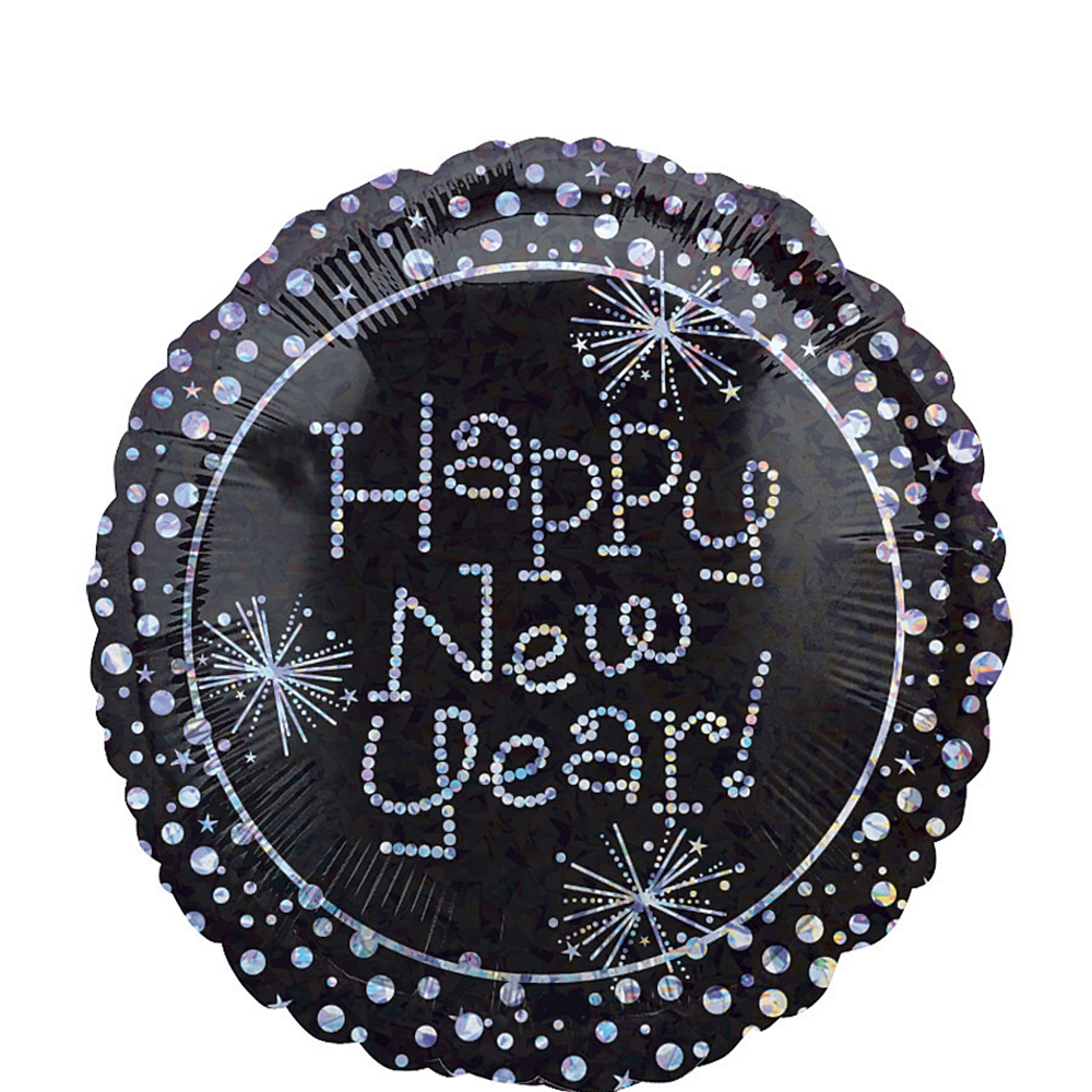 Happy New Year Balloon - Sparkling Image #1