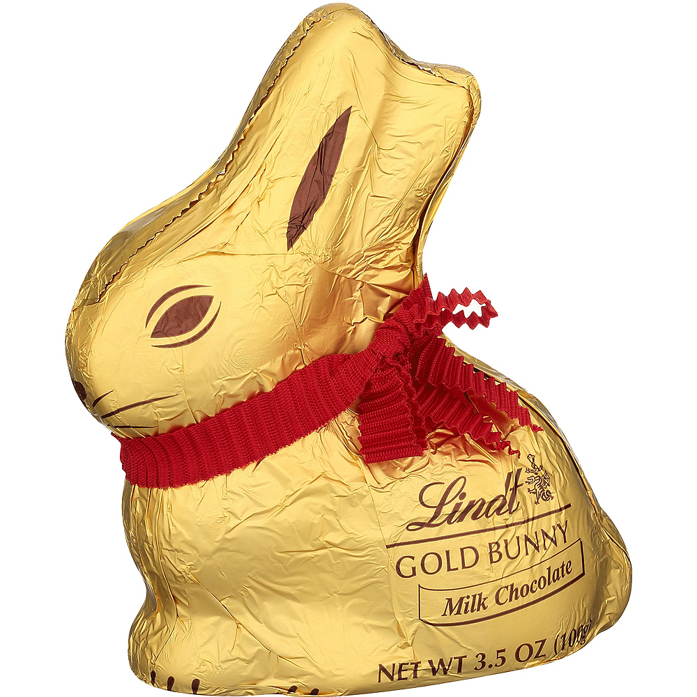 Lindt Milk Chocolate Gold Bunny Image #1