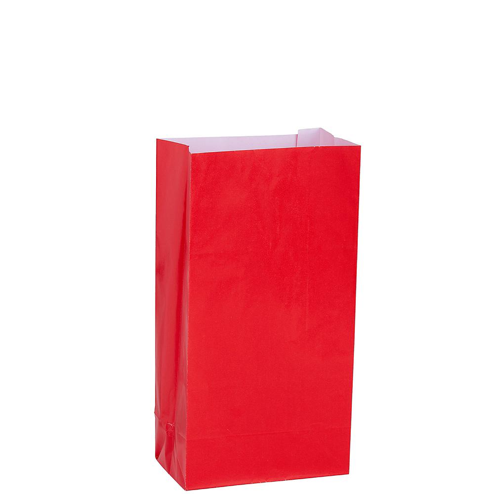 Medium Red Paper Treat Bags 12ct