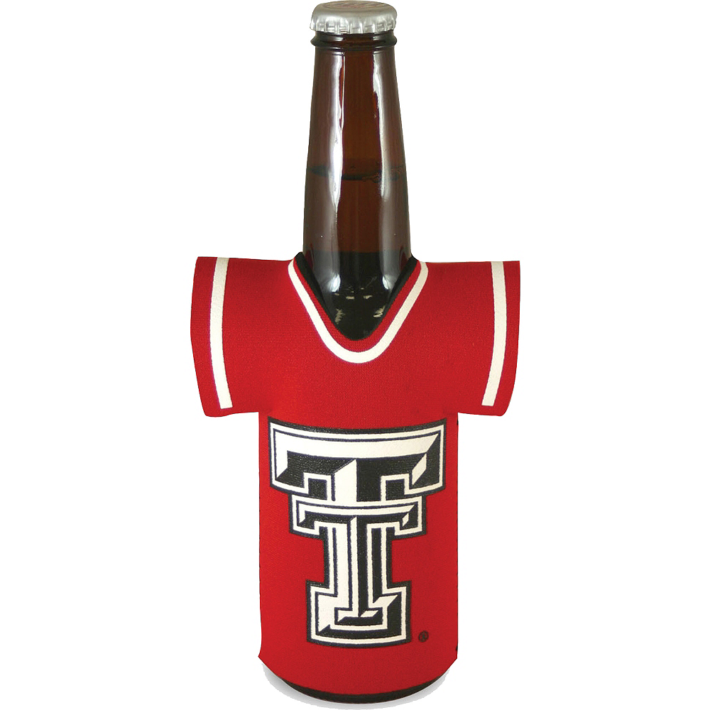Texas Tech Red Raiders Jersey Bottle Coozie Image #1