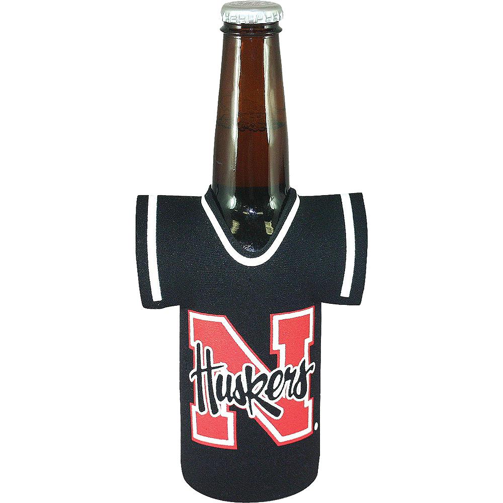 Nebraska Cornhuskers Jersey Bottle Coozie Image #1