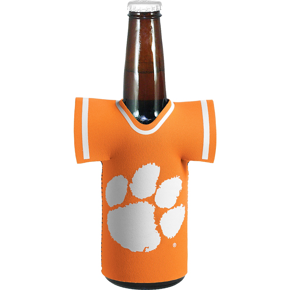 Clemson Tigers Jersey Bottle Coozie Image #1