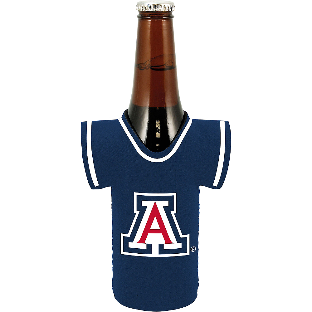 Arizona Wildcats Jersey Bottle Coozie Image #1