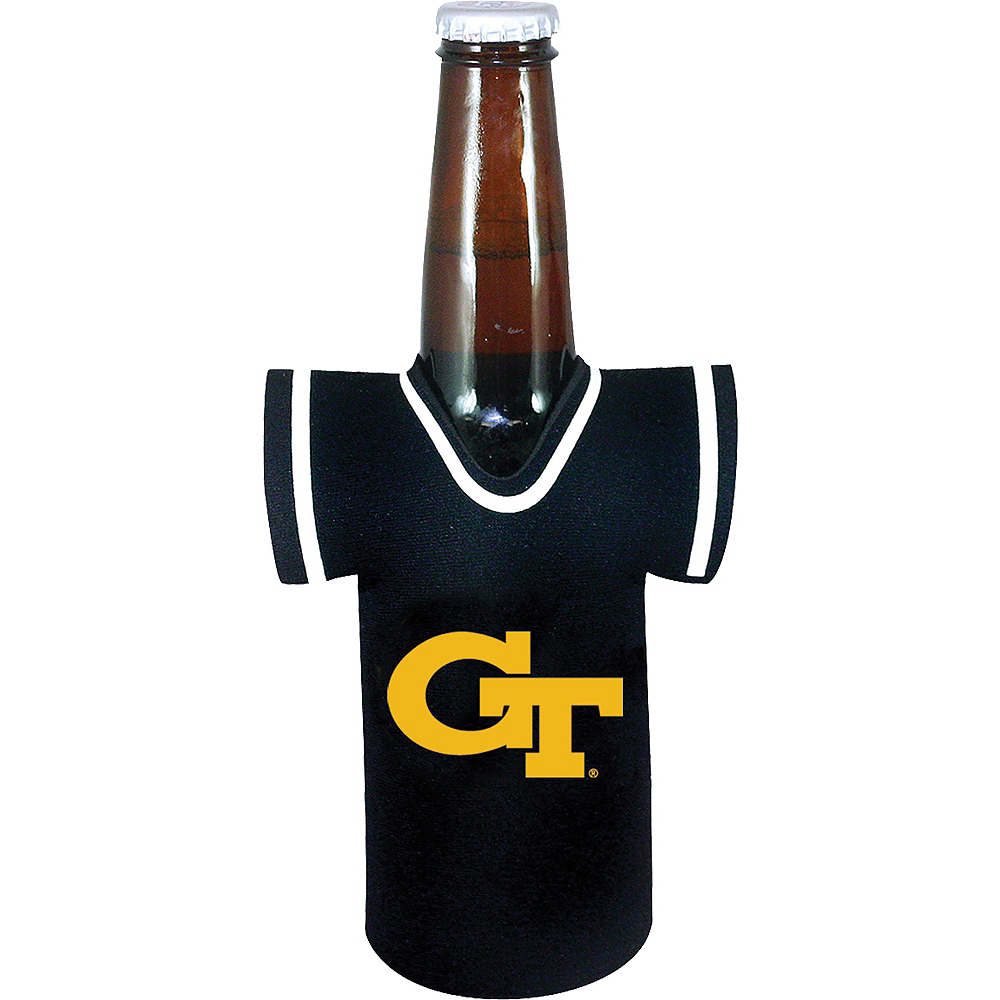 Georgia Tech Yellow Jackets Jersey Bottle Coozie Image #1