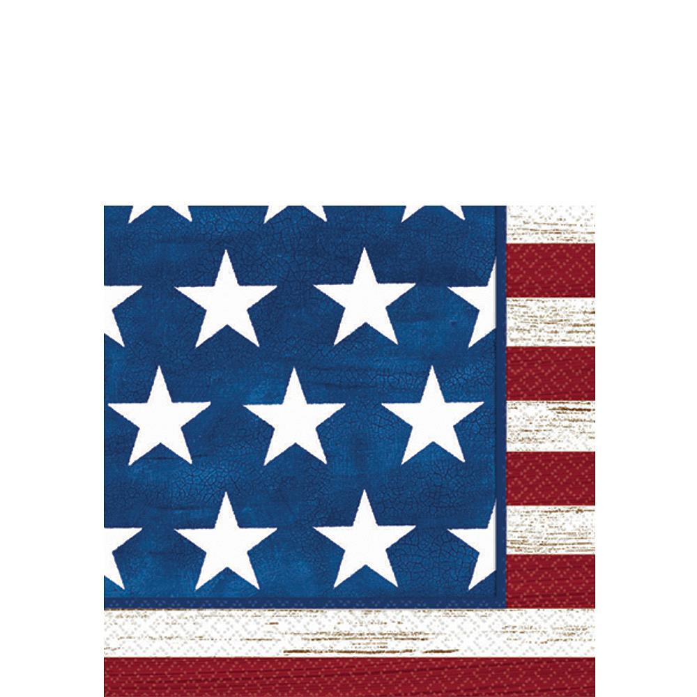 Americana Beverage Napkins 100ct Image #1