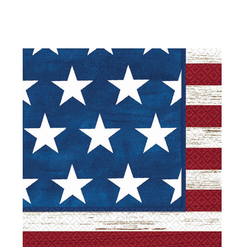 Americana Lunch Napkins 100ct Image #1