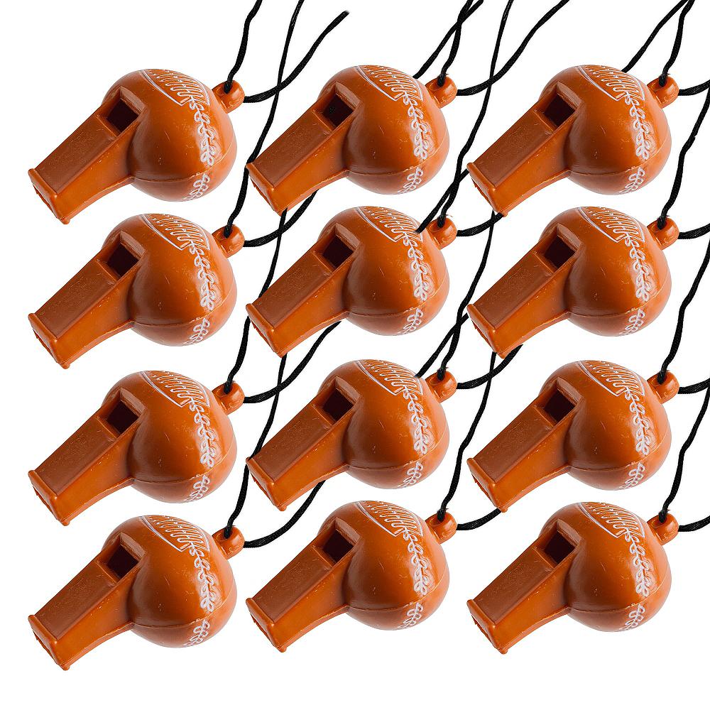 Football Whistles 12ct Image #1