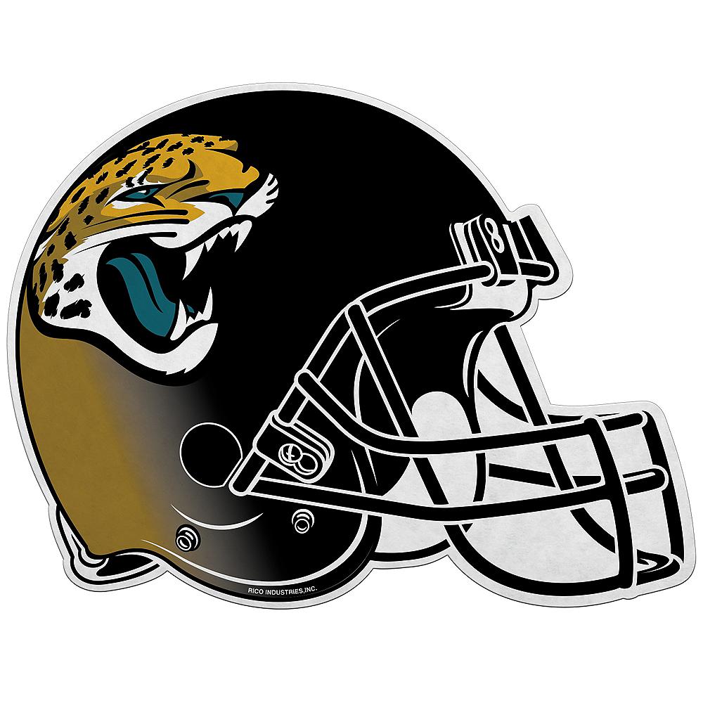 Jacksonville Jaguars Helmet Pennant Image #1