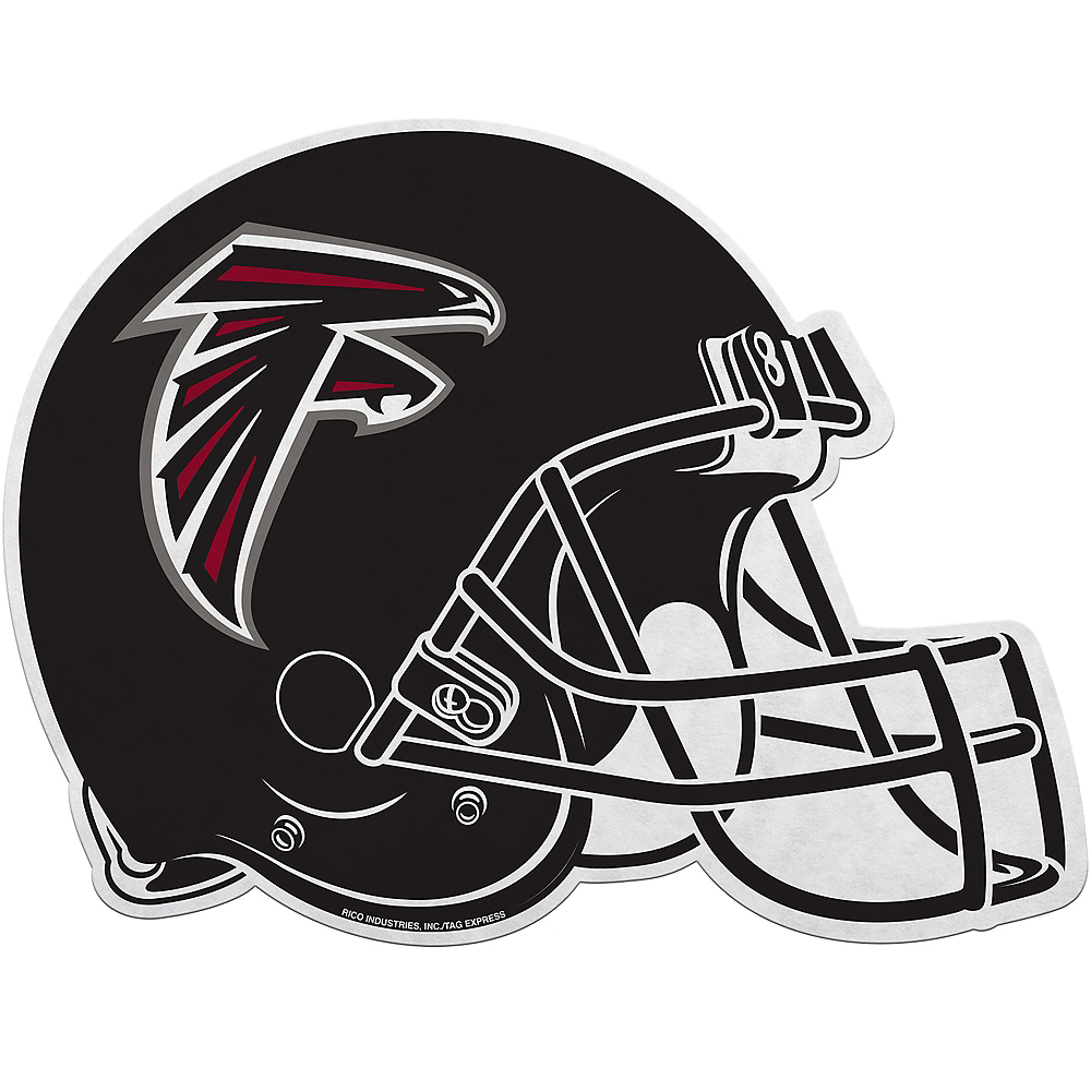 Nav Item for Atlanta Falcons Helmet Pennant Image #1