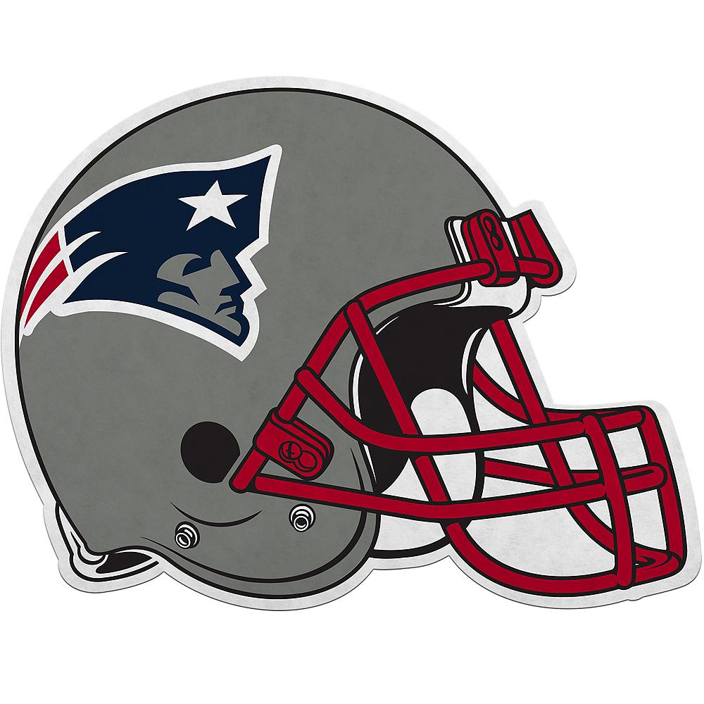 New England Patriots Helmet Pennant Image #1