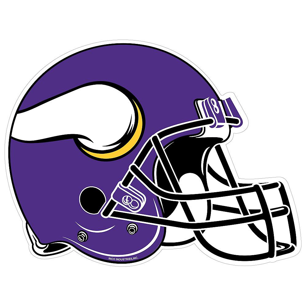 buy popular fea66 d03a7 Minnesota Vikings Helmet Pennant