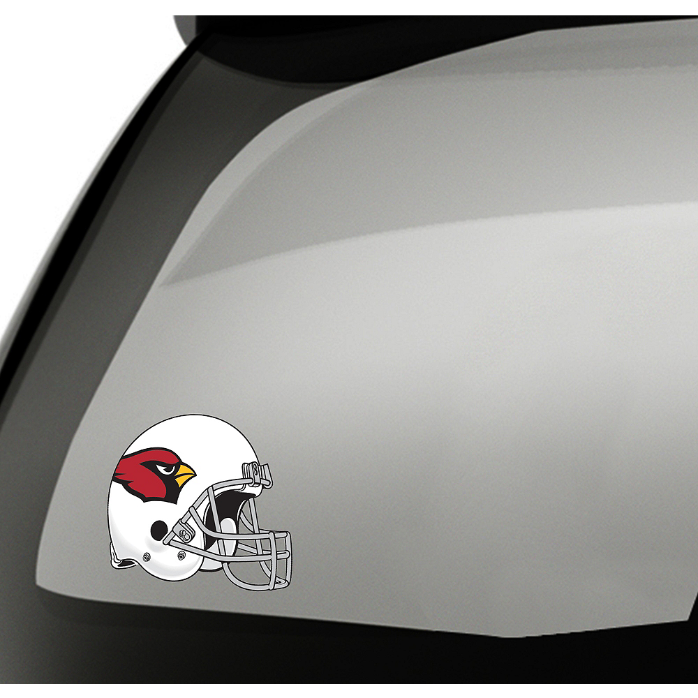 Nav Item for Arizona Cardinals Helmet Decal Image #1