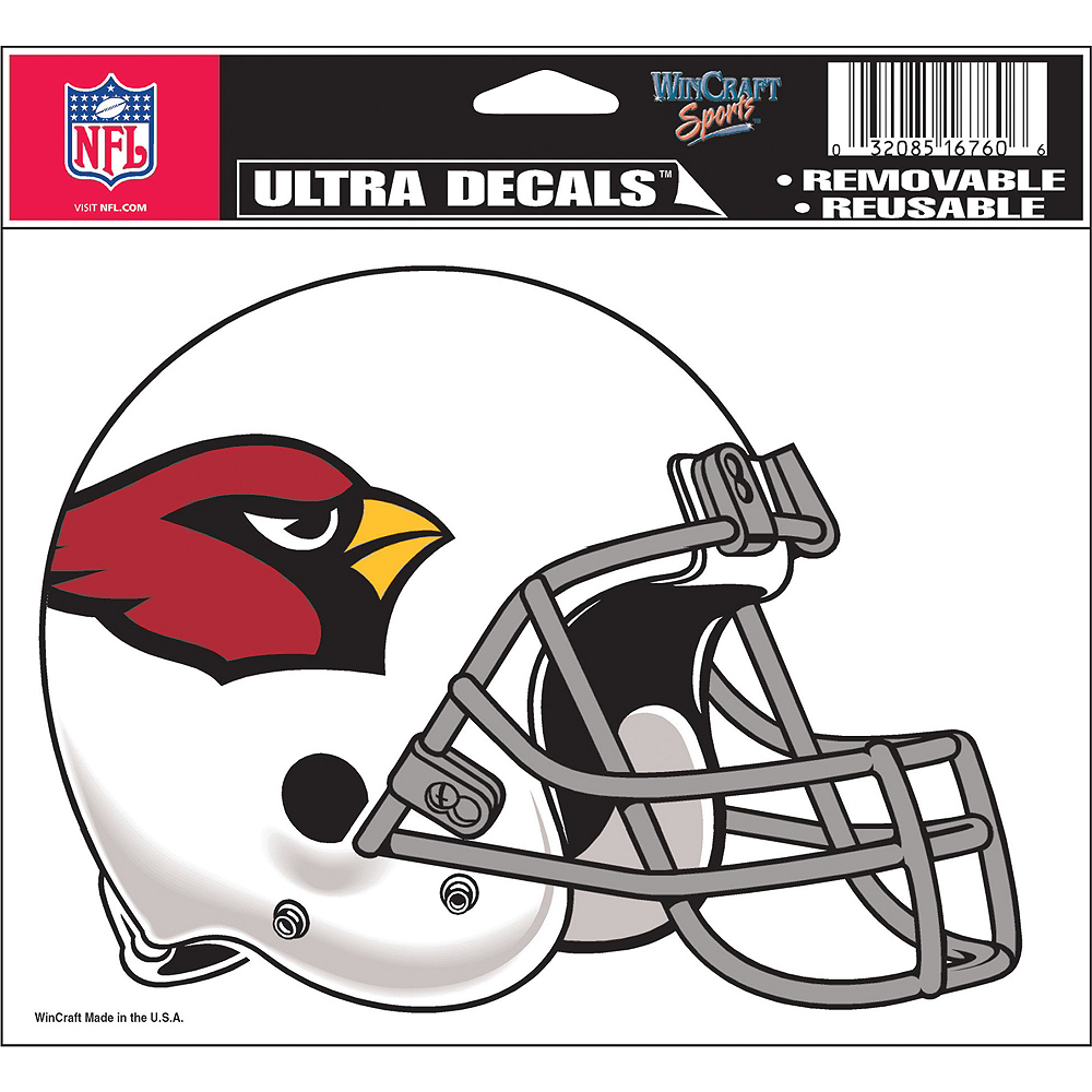 Nav Item for Arizona Cardinals Helmet Decal Image #2