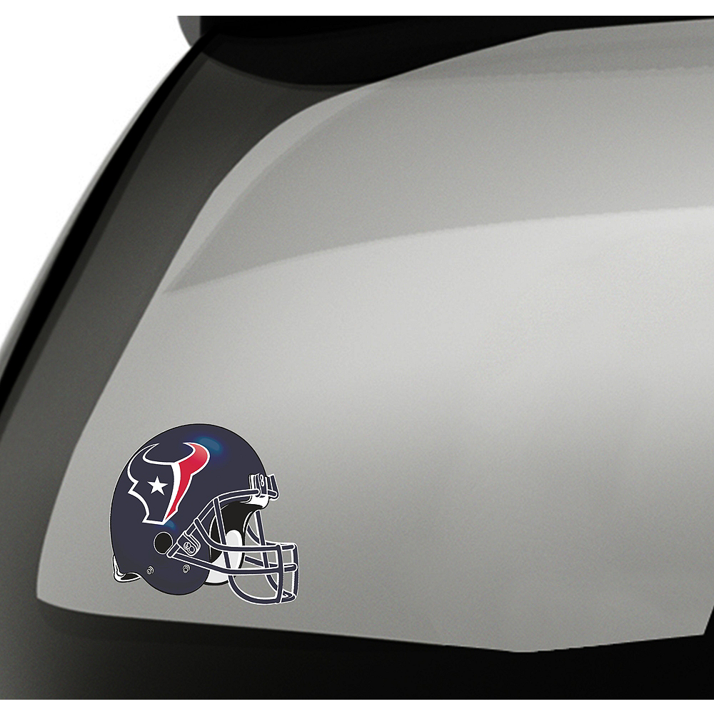 Houston Texans Helmet Decal Image #1
