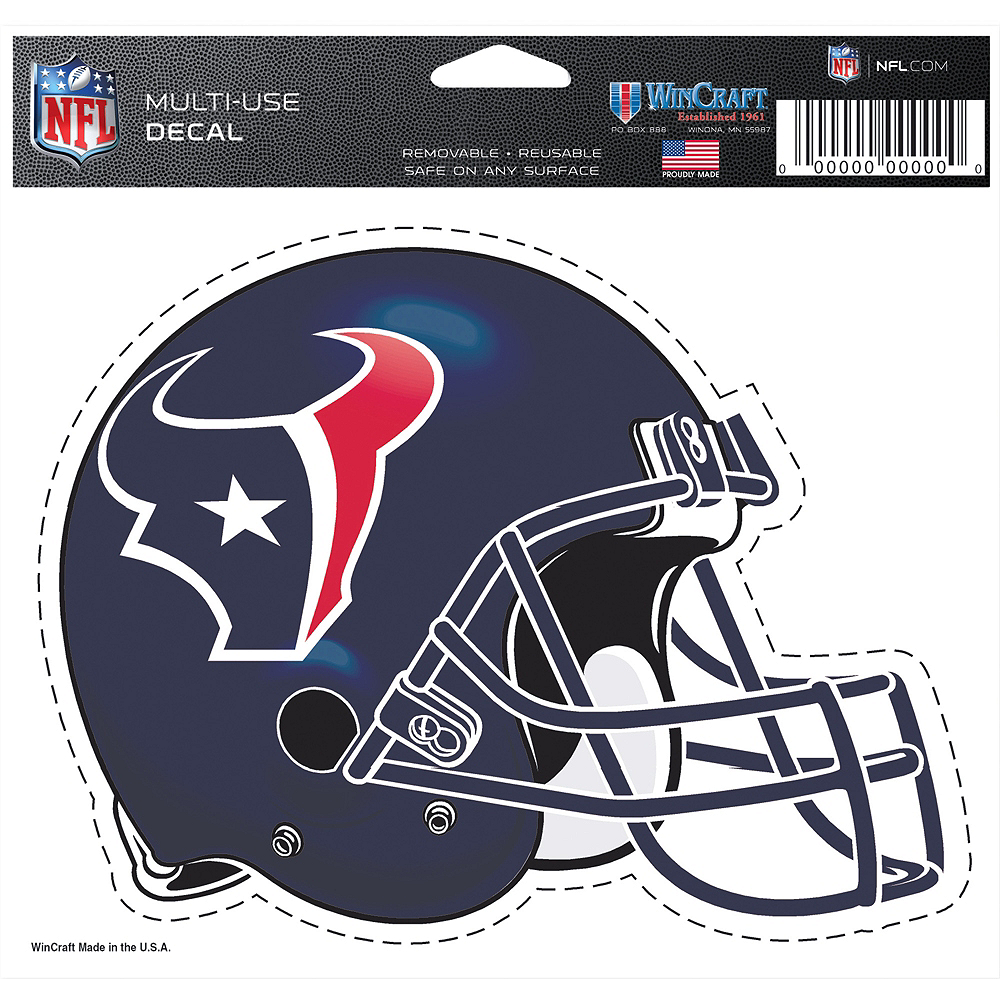 Houston Texans Helmet Decal Image #2