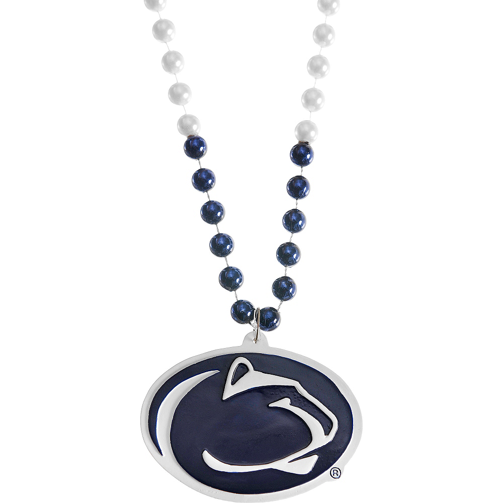 Penn State Nittany Lions Pendant Bead Necklace Image #1