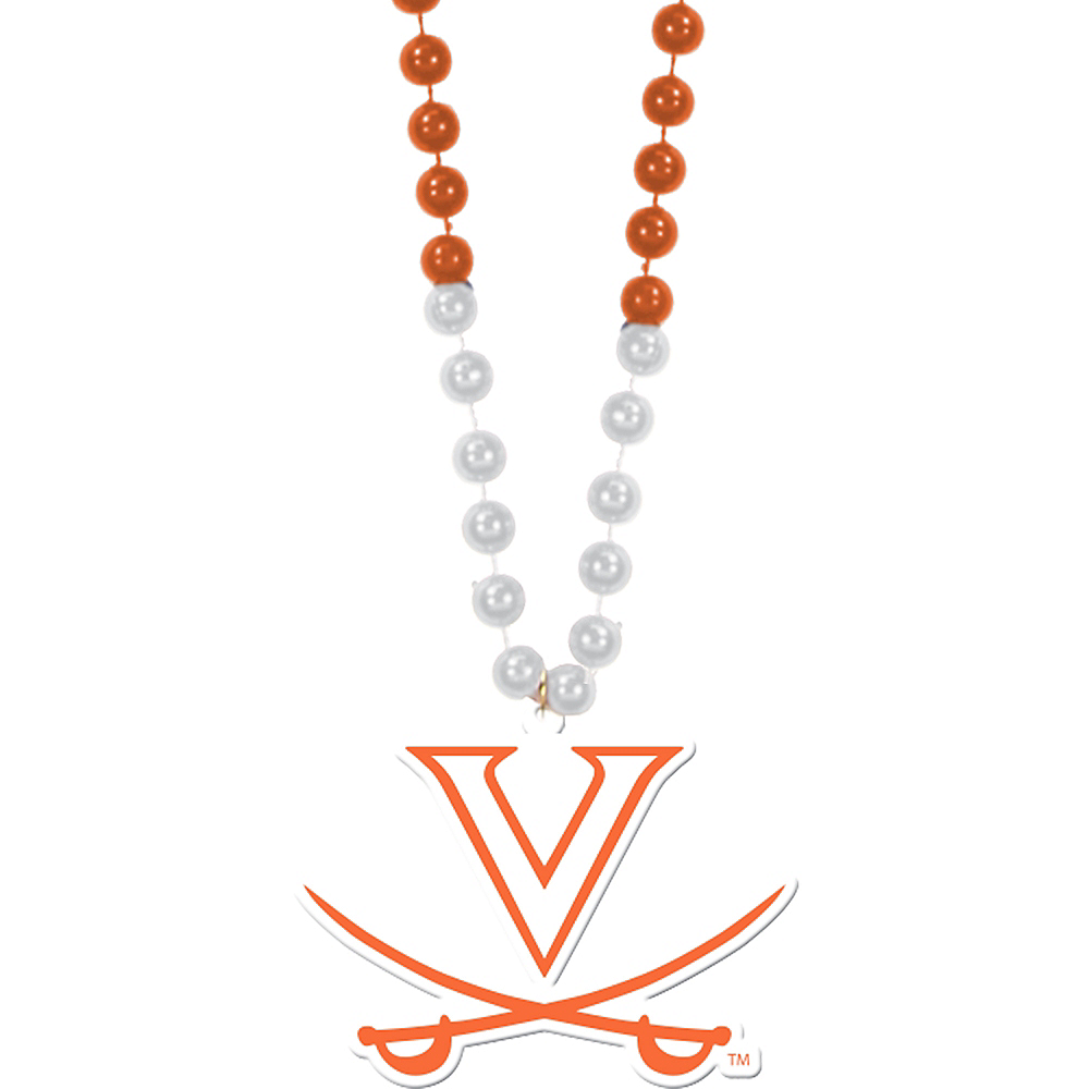 Virginia Cavaliers Pendant Bead Necklace Image #1
