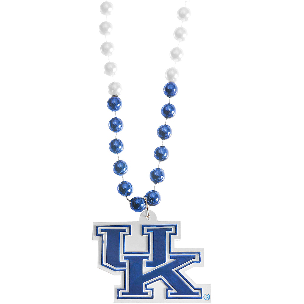 Kentucky Wildcats Pendant Bead Necklace Image #1