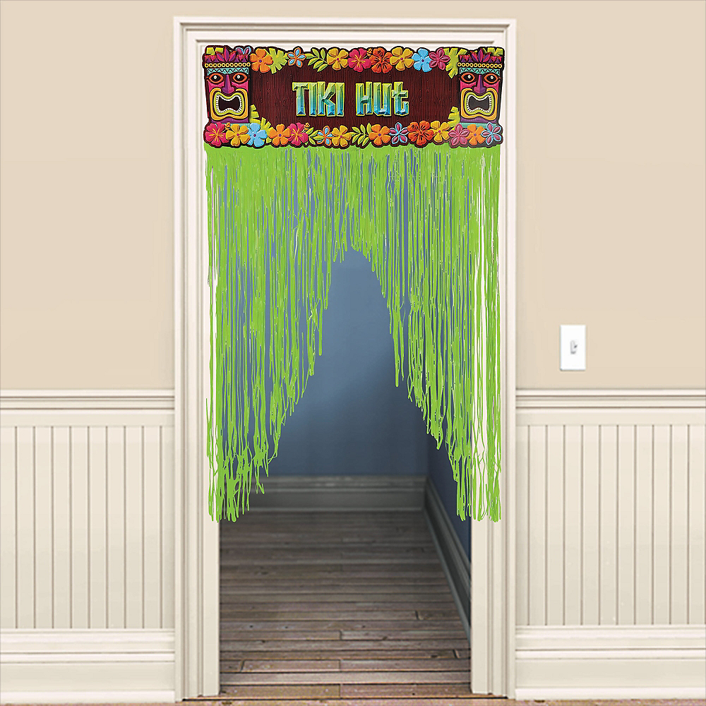 Totally Tiki Door Curtain Image #1