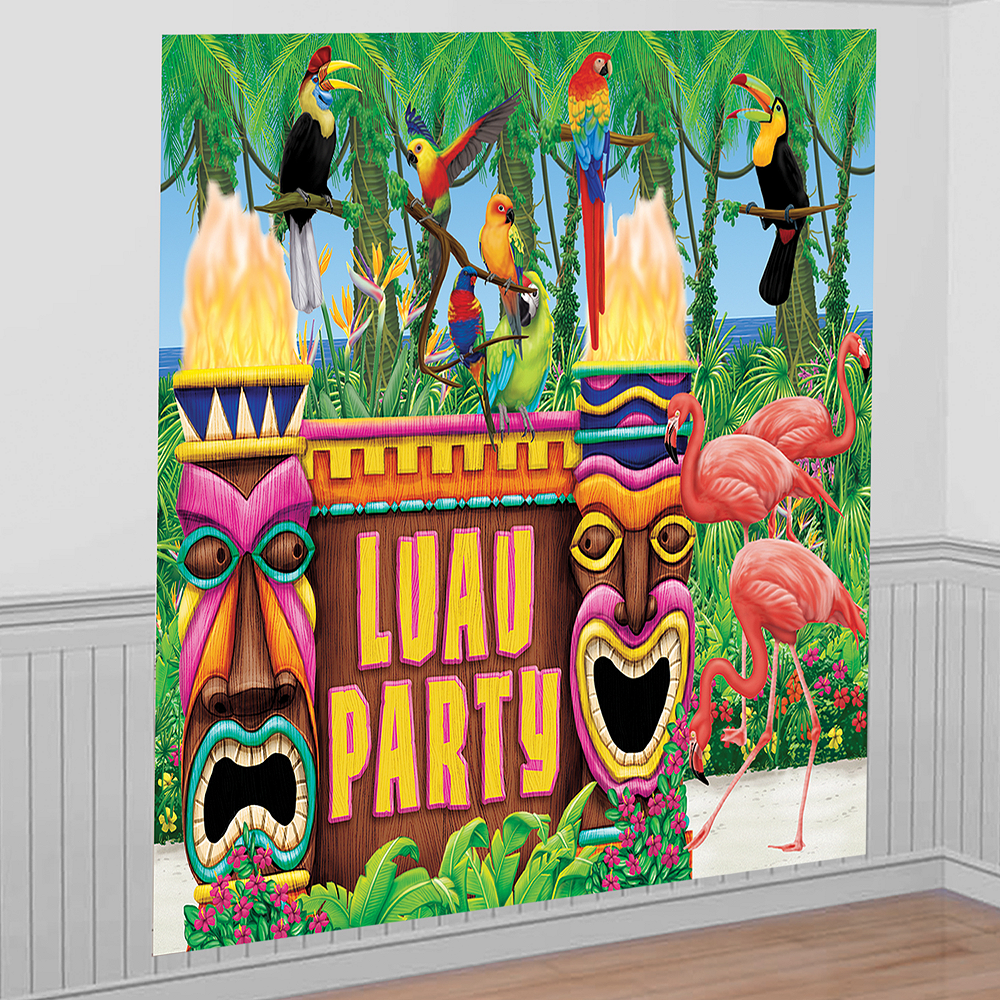 Nav Item for Luau Party Decorating Kit Image #1