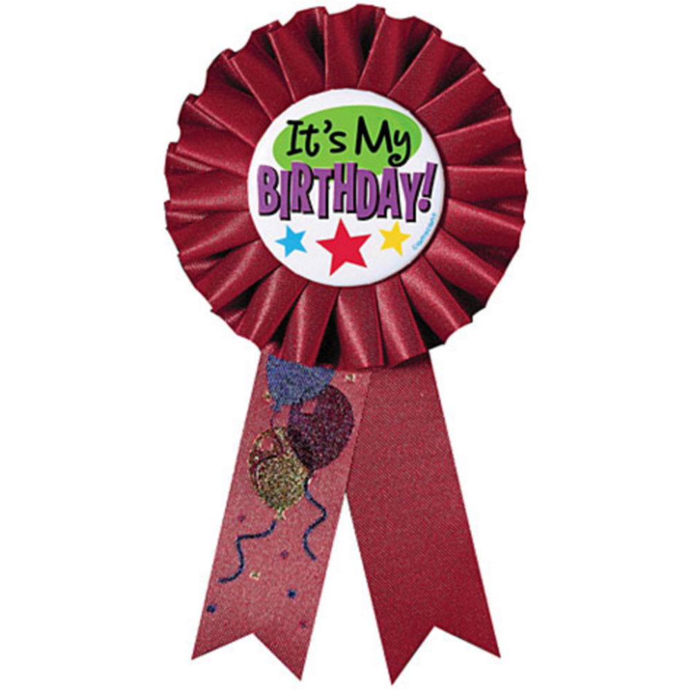 It's My Birthday Award Ribbon Image #1