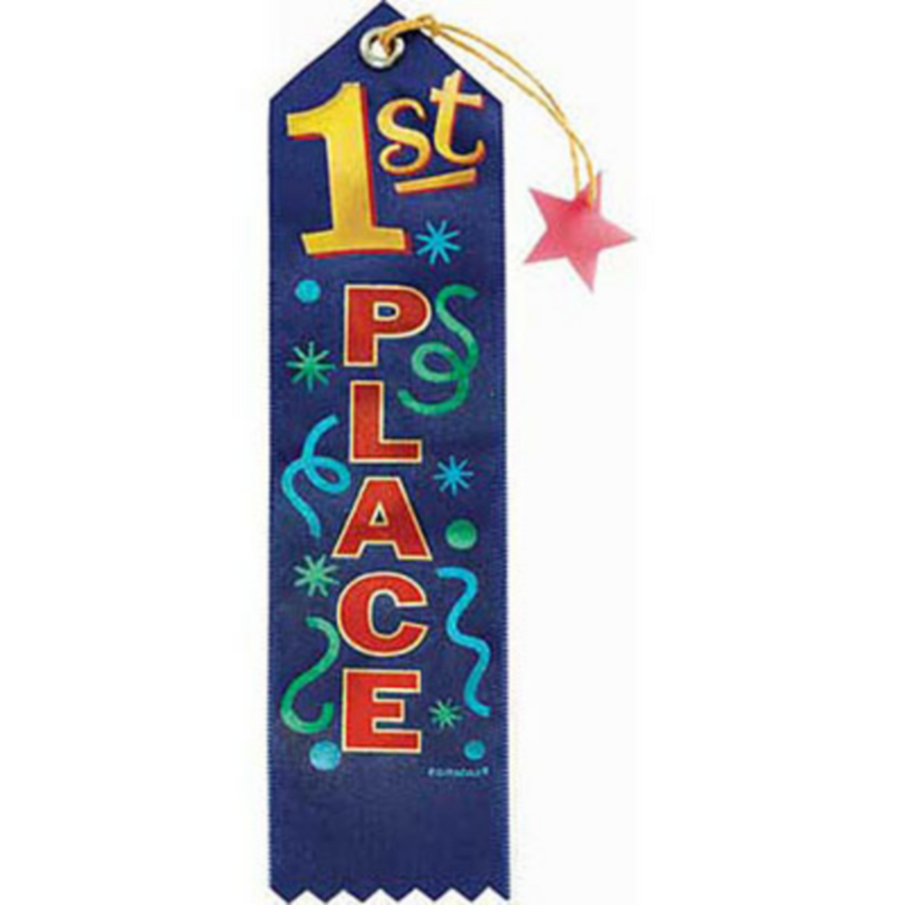 First Place Recognition Ribbon Image #1
