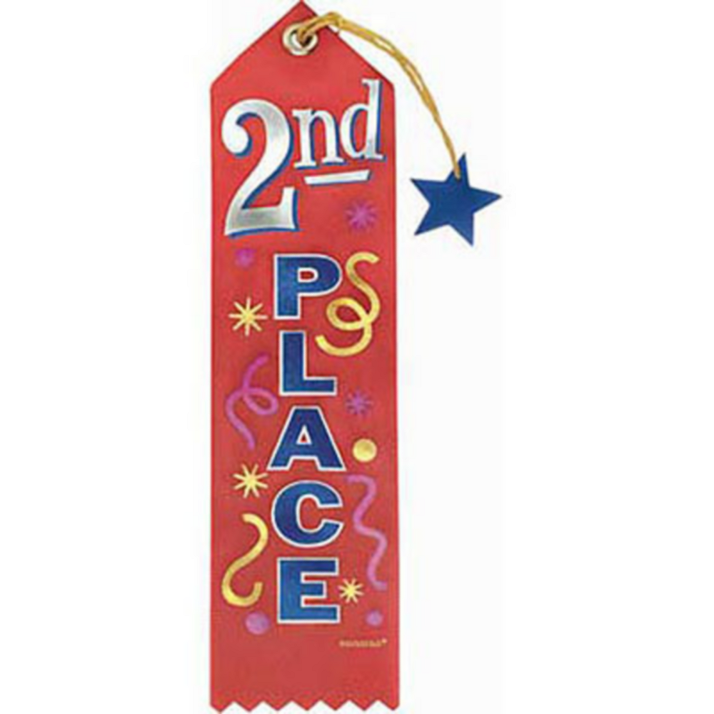 Second Place Recognition Ribbon Image #1