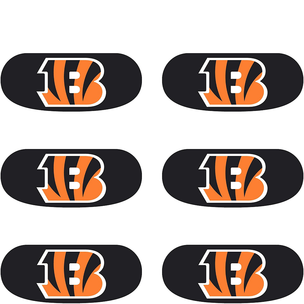 Cincinnati Bengals Eye Black Stickers 6ct Image #2