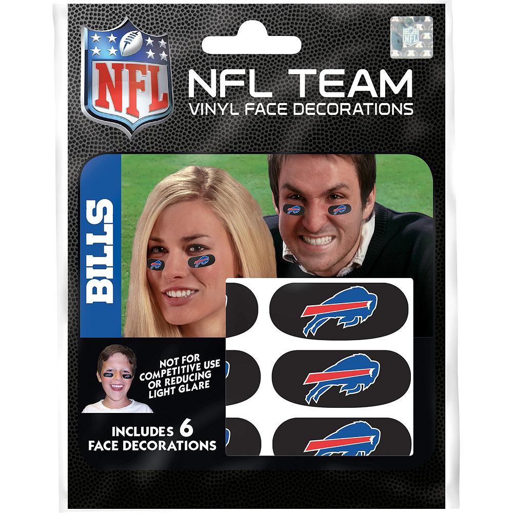 Buffalo Bills Eye Black Stickers 6ct Image #1