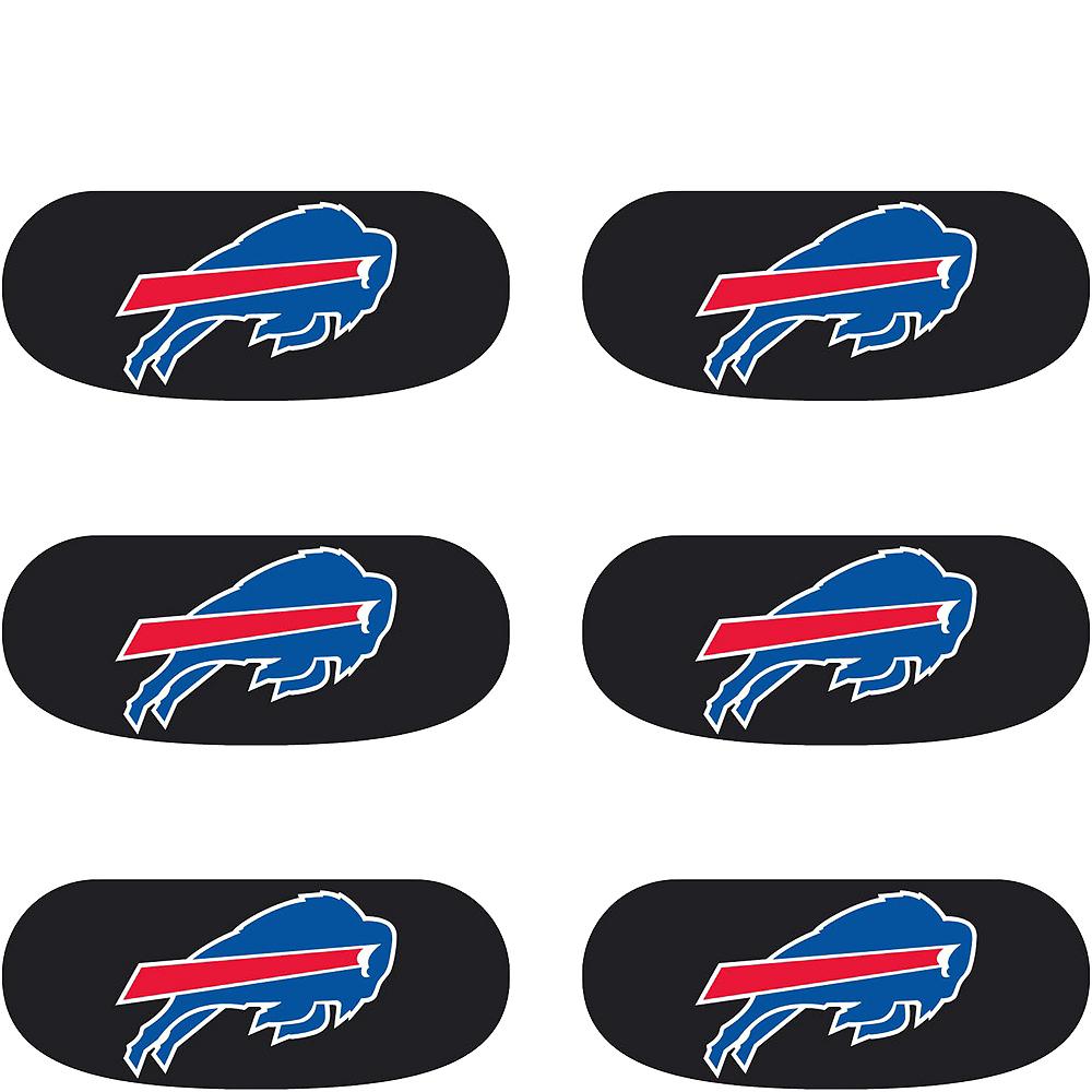 Buffalo Bills Eye Black Stickers 6ct Image #2