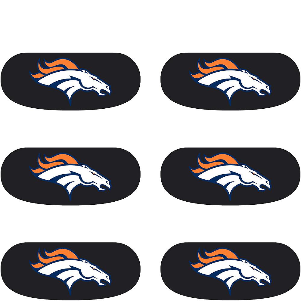 Denver Broncos Eye Black Stickers 6ct Image #2