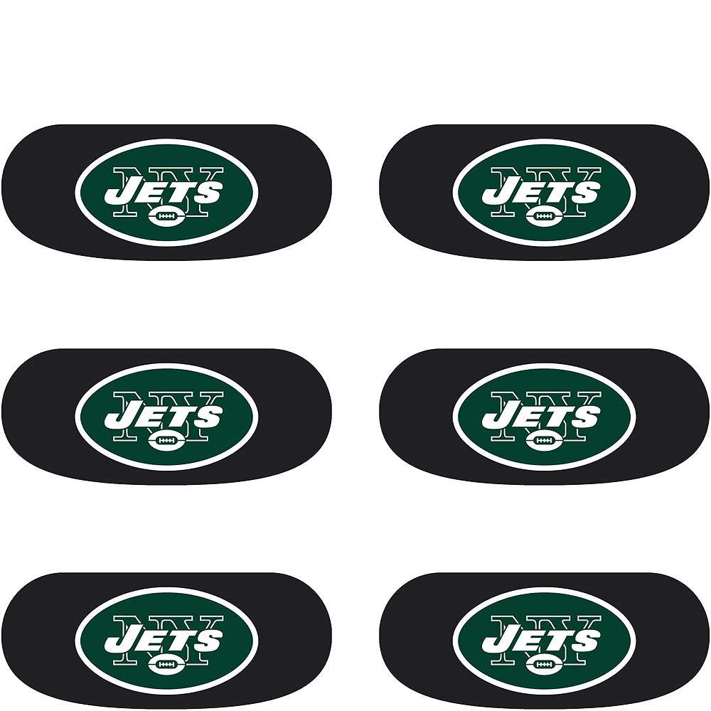 New York Jets Eye Black Stickers 6ct Party City