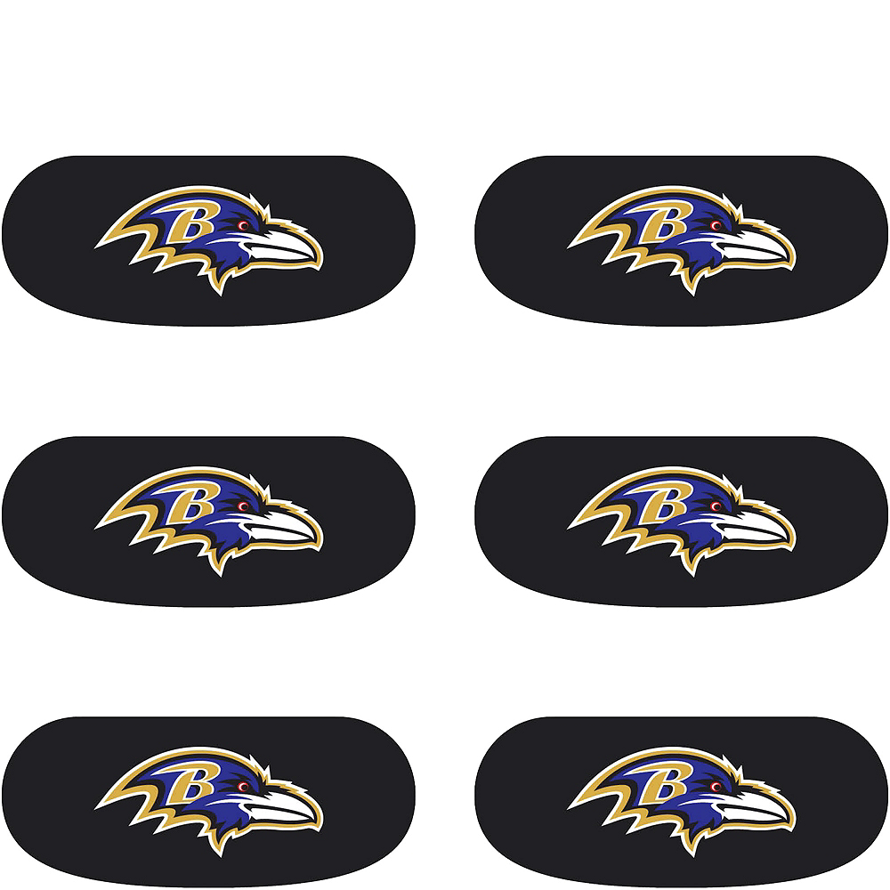 Baltimore Ravens Eye Black Stickers 6ct Image #2