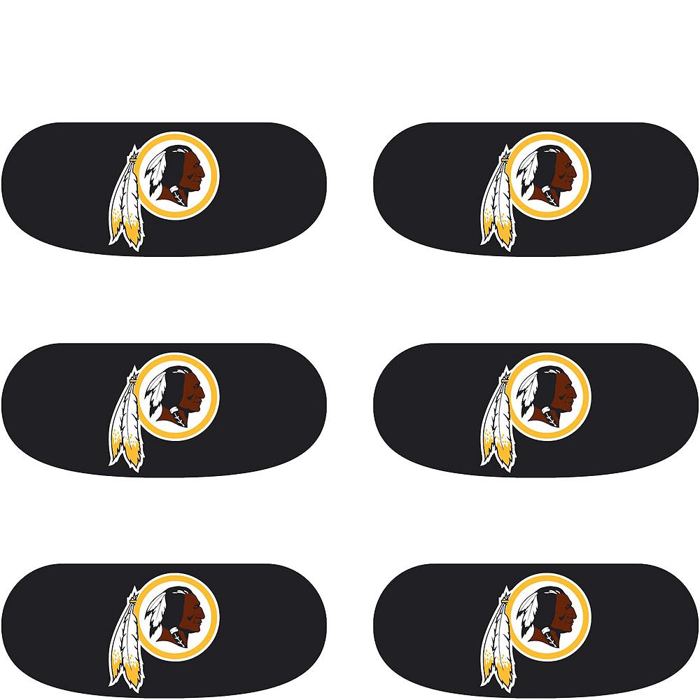 Washington Redskins Eye Black Stickers 6ct Image #2
