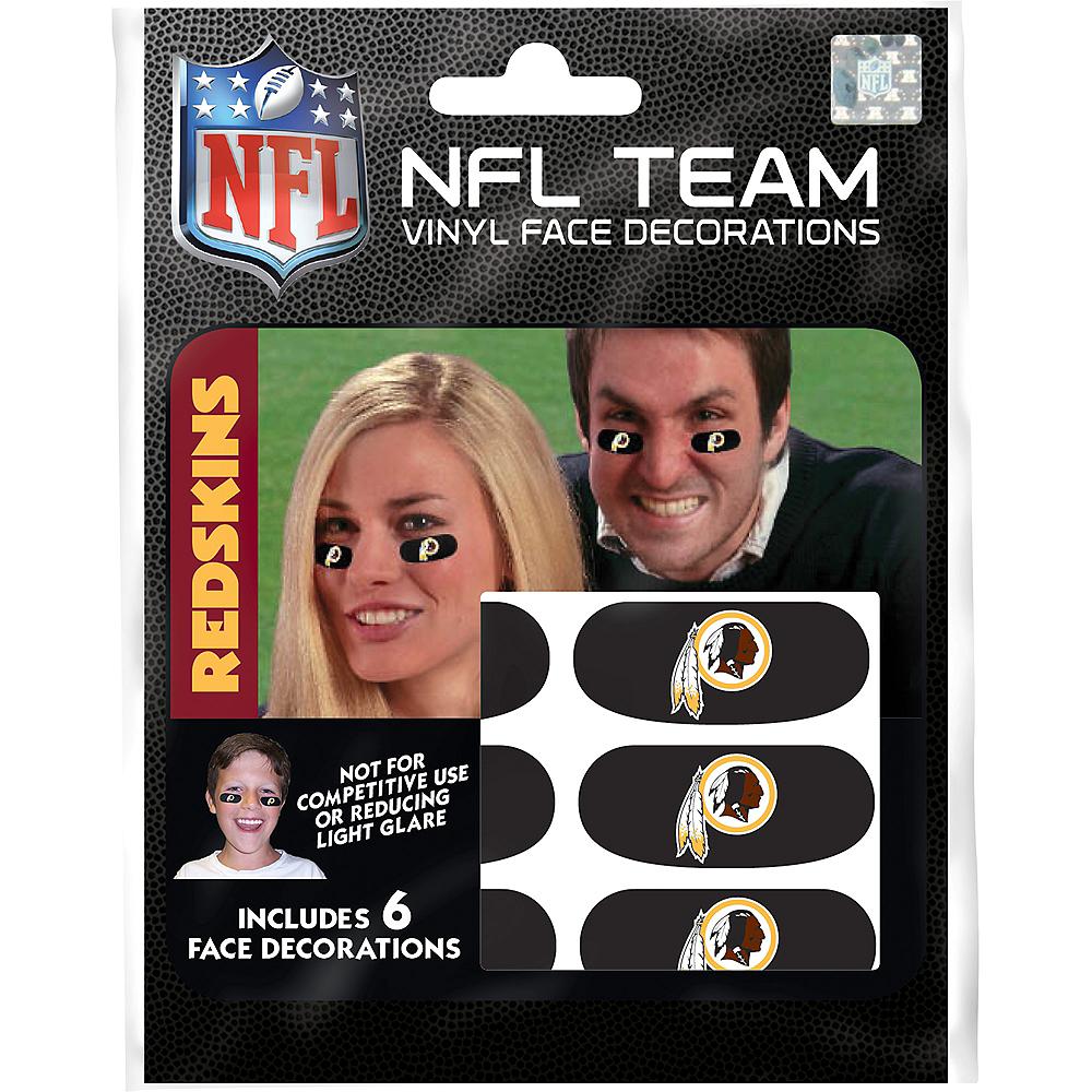 Washington Redskins Eye Black Stickers 6ct Image #3