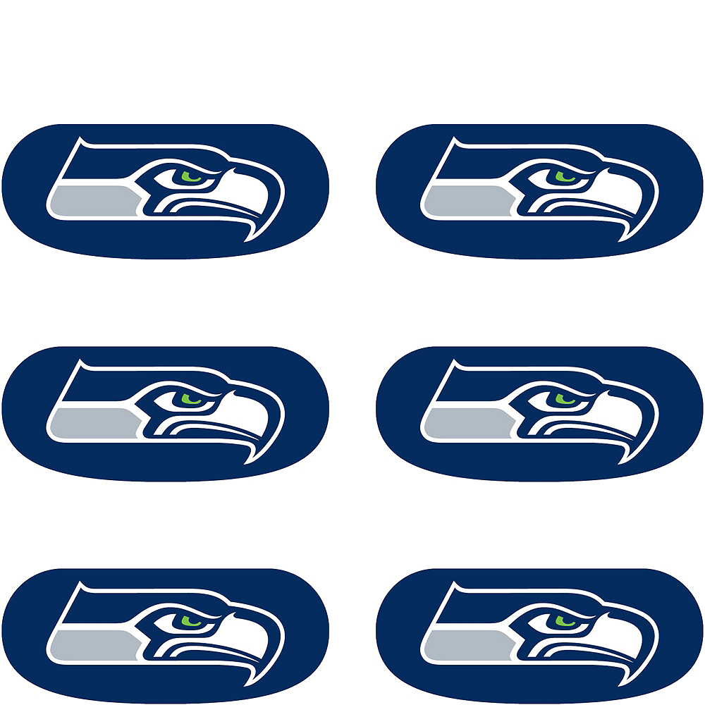 Seattle Seahawks Eye Black Stickers 6ct Image #2