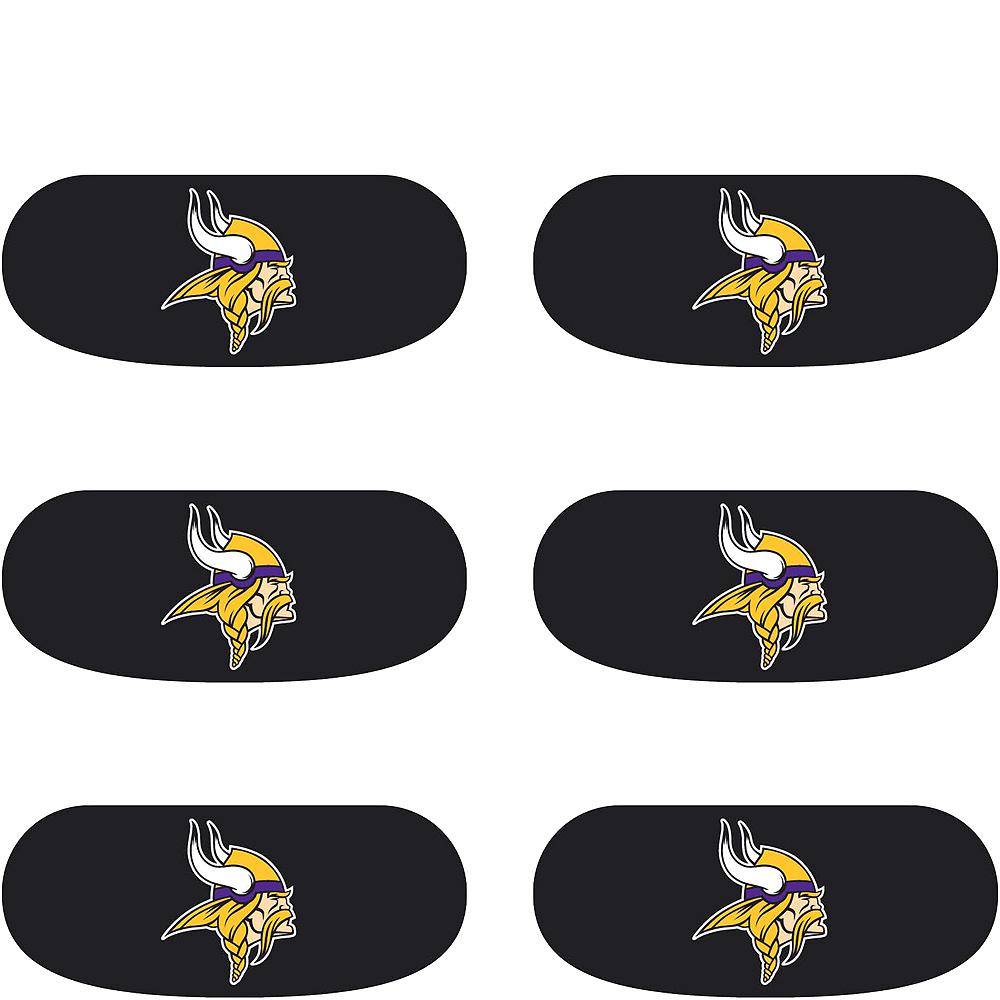 Minnesota Vikings Eye Black Stickers 6ct Image #2