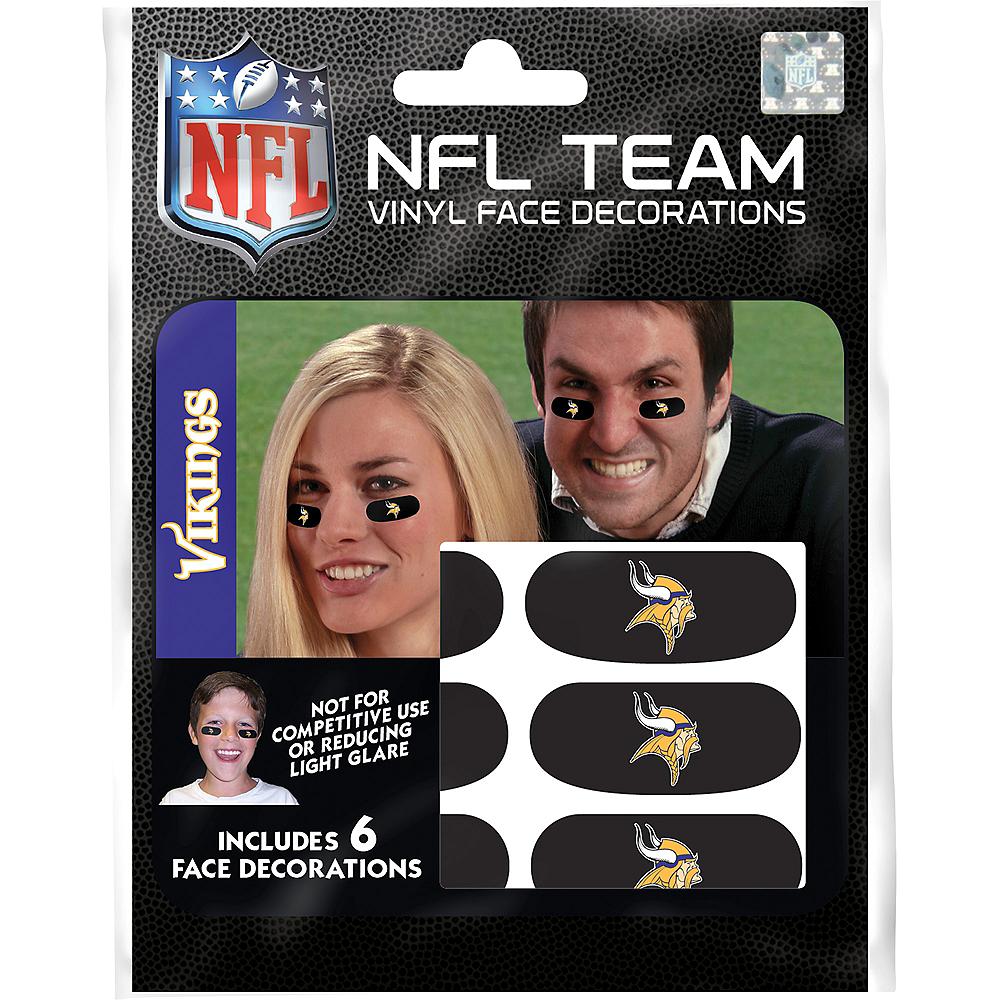 Minnesota Vikings Eye Black Stickers 6ct Image #3