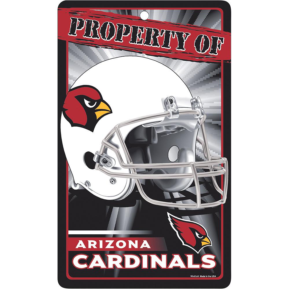 Property of Arizona Cardinals Sign Image #1