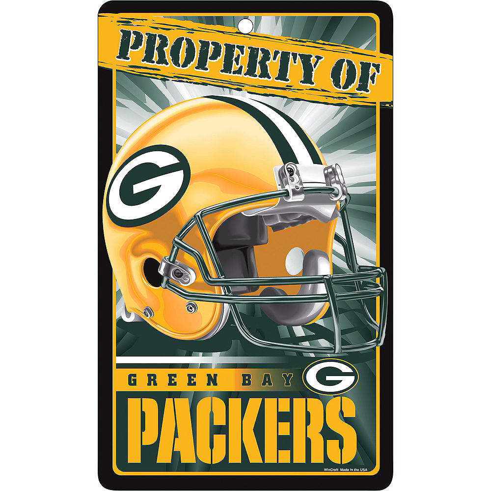 Property of Green Bay Packers Sign Image #1