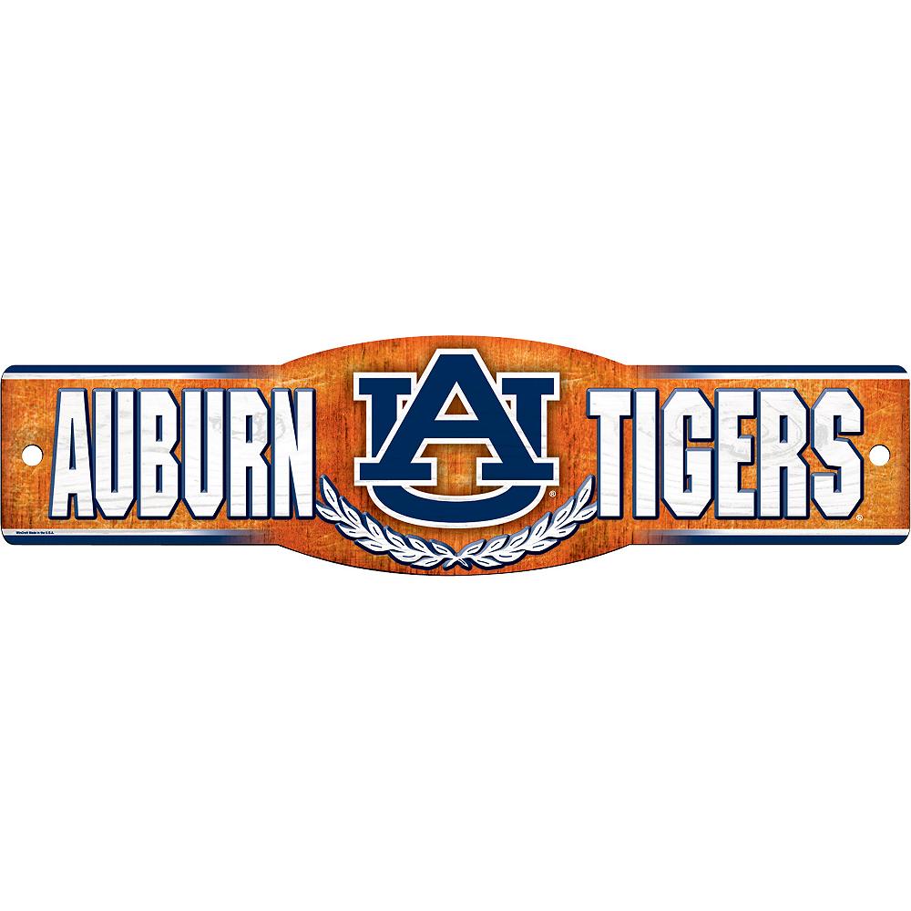 Auburn Tigers Street Sign Image #1
