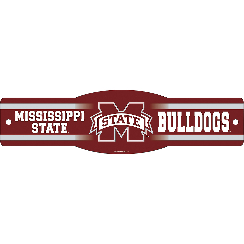 Nav Item for Mississippi State Bulldogs Street Sign Image #1