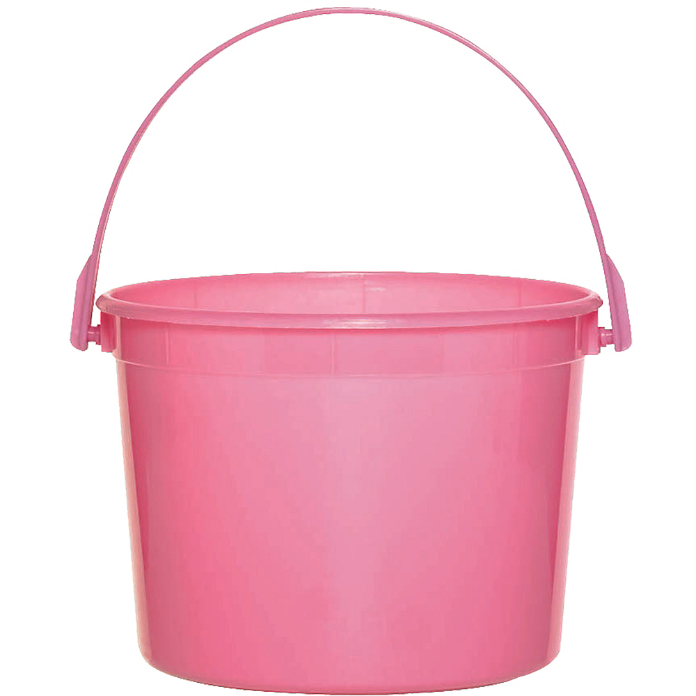 Bright Pink Favor Container Image #1