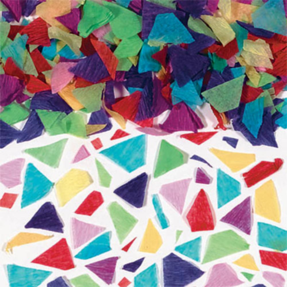 Multicolor Tissue Paper Confetti Image #1