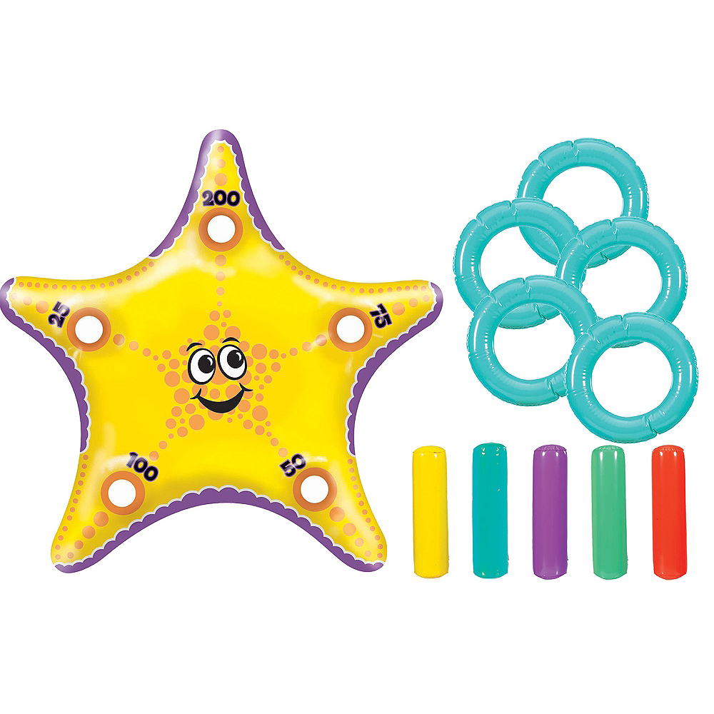 Inflatable Starfish Ring Toss Game Image #1
